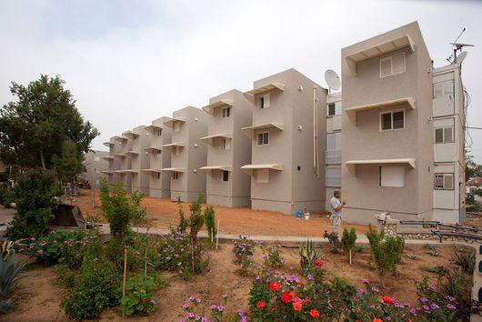 Убежища, пристроенные к квартирам. Израиль